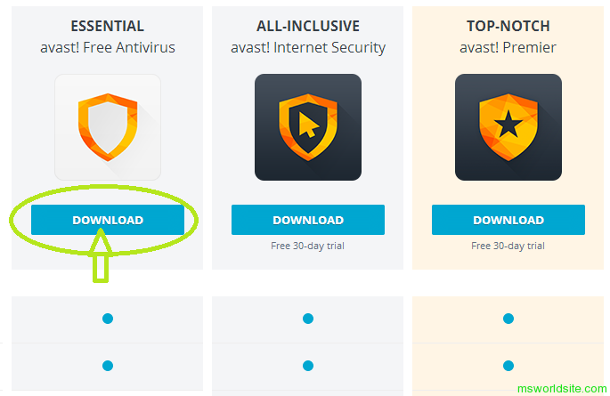Free Trial For Music Download Antivirus Avast